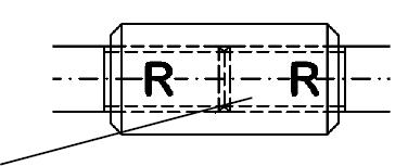 Douille d\'extension pour serrer de la barre tendue, tirant systèmes d\' haubanage BESISTA