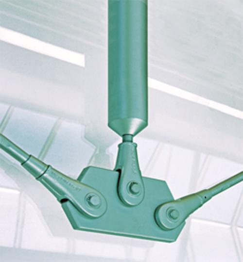 Barra de compresión y barras de tensión sistema BESISTA para apuntalamientos en la construcción de acero