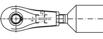 Stabanker mit Druckstabanschlüssen - System BESISTA