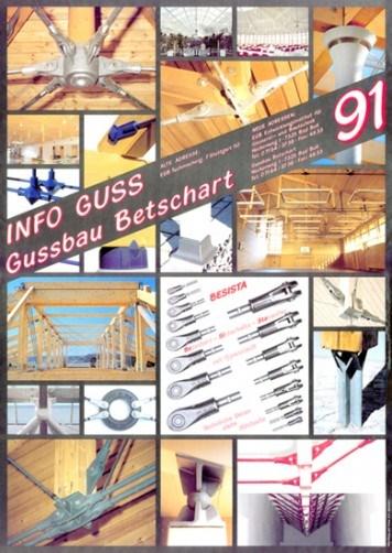 Affiche 1991 système de barres tendues/système de tirants BESISTA-355