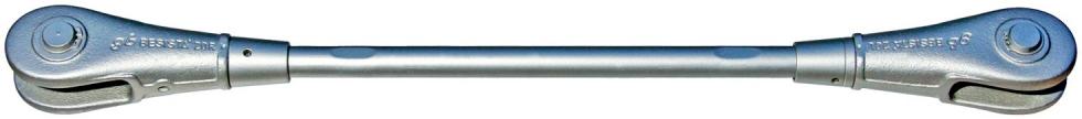 Sistema de tirantes/sistema de atirantado con manguitos de cobertura BESISTA-540