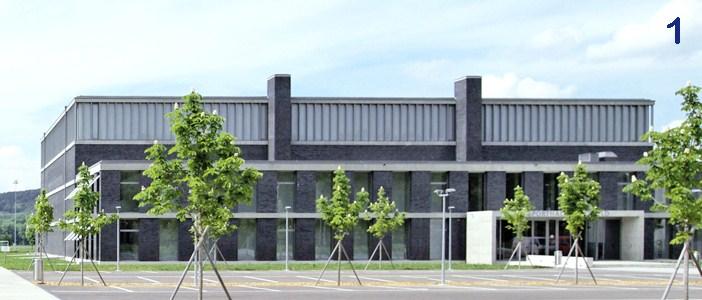 Systèmes de tirants BESISTA stabilisent le gymnase Frauenfeld