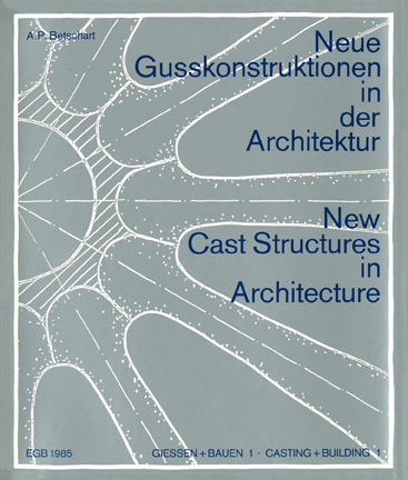 Betschart: New Cast Structures in Architecture, fundamental study 1985 - 221