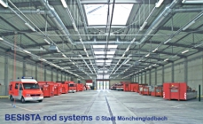 Tension and compression rods system BESISTA for the fire department, Moenchengladbach - 305