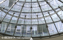 Tension rod systems BESISTA for glass constructions and facade engineering - 512