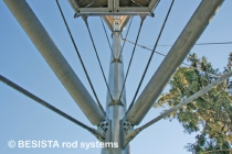 Bracings with tension ties/tension rod systems BESISTA for the Skywalk Scheidegg - 583