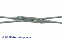 tension rod systems and tension bar systems with extremely flat angles - 598