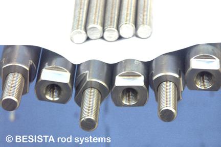 Tirants/barres tendues BESISTA comme éléments spéciaux pour la construction des façades - 309