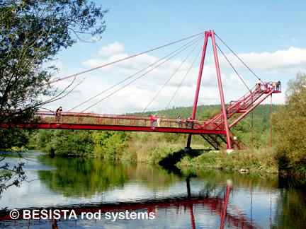 Systèmes d'haubanage BESISTA pour le haubanage dans le pont du Redwitz - 482.7