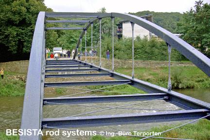 Systèmes d'haubanage BESISTA pour les tirants/suspentes et contreventements - 497
