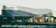Systèmes d'haubanage BESISTA pour les haubanages du Snow Dome Soelden - 161