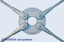 Disque de répartition BESISTA en fonte et systèmes de tirants, galvanisés à chaud - 272