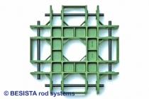 Modèle de fonderie pour une pièce en fonte pour le raccordement de 8 tirants et barres de compression - 276