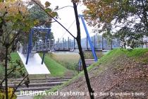 Systèmes d'haubanage BESISTA pour l'haubanage du pont aux piétons près de Ummendorf - 293