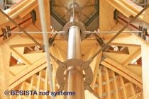 Systèmes de tirants BESISTA pour le contreventement de la toiture de l'EXPO, Hannover - 327