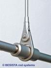 Œillet de suspension BESISTA pour suspendre les tirants avec douilles d'extension - 332