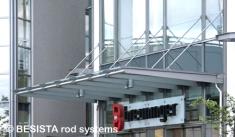 Système de barres de compression BESISTA avec barres rondes tournées, Breuninger, Ludwigsburg - 384