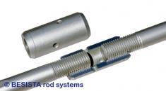 Douilles de serrage BESISTA servent à précontraindre les tirants - 492