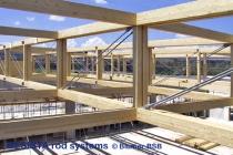 Systèmes de tirants de BESISTA dans les constructions en bois de haute qualité - 505