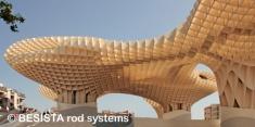 Systèmes d'haubanage BESISTA utilisés dans Metropol Parasol, Séville, Espagne - 553