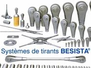 La gamme de produits BESISTA pour systèmes de tirants et tirants de compression - 999
