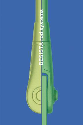 Betsch-ART: Dibujo de un BESISTA anclaje de barra, dividido, colorado - 131