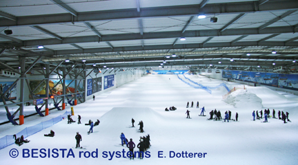 Sistemas de tirantes de BESISTA para la suspensión de Snow Dome - 159
