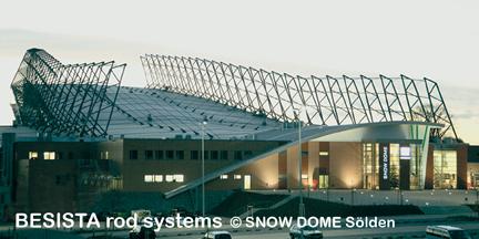 BESISTA sistemas de tirantes para arriostramientos de Snow Dome Sölden - 161