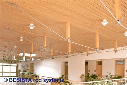 BESISTA barras de tensión y anclajes para arriostramientos en construcción de madera - 168