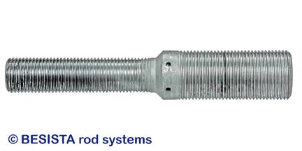 BESISTA barra de reducción entre anclaje de barra/cabezal y amarre de cable - 181