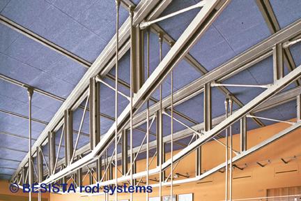 Tirantes BESISTA para suspensión de escaleras, Daimler-Crysler, Berlin - 197