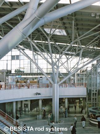 Betschart nudo de fundición para los pilares en forma de rama aeropuerto de Stuttgart - 238