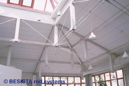 Tensores de BESISTA para suspensiones y arriostramientos en el MJH-Kempten - 242