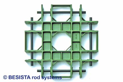 Betschart modelo de la fundición para pieza de fundición para connexión de 8 tirantes y barras de compresión - 276