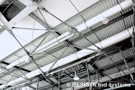 BESISTA sistemas de barras de tensión y compresión para la cubierta - 315