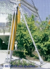 Tirantes/anclajes sistema BESISTA para suspensión de la estructura de red de cables - 37