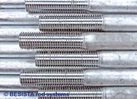 Roscas de barra vueltas a roscar con capa de zinc son una especialidad de BESISTA - 282