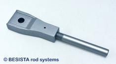 Anclajes de barra especiales y tirantes de BESISTA para el montaje ciego - 323