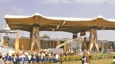 Sistemas de barras de tensión BESISTA en la cubierta de EXPO Internacional Hannover - 328