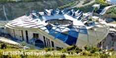Sistemas de barras BESISTA para Eden Project Cornwall Inglaterra - 340