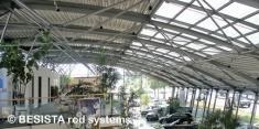 Suspensiones con BESISTA sistemas de barras de tensión en el Audi Center Ingolstadt - 352