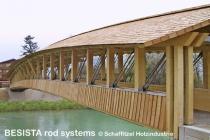 Sistemas de miembros en tensión BESISTA para tirante del puente Siezenheim Austria - 362