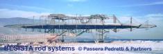 BESISTA sistemas de atirantado forman la estructura espacial de