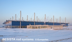 Tirantes con BESISTA miembros en tensión, Europoles Konin Polonia - 470