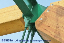 Amarre de BESISTA anclajes de barra/cabezales para el puente Kössen Austria - 479