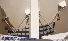 Tirantes y anclajes de barra de BESISTA para Metropol Parasol Sevilla, España - 549