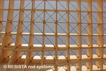 Barras de tensión con horquillas de BESISTA para Metropol Parasol Sevilla, España - 555
