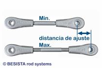 Distancias de ajuste muy largas con el sistema de tensión y compresión BESISTA - 562