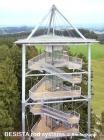 Barras de tensión con anclajes de barra BESISTA para suspensiones Skywalk Scheidegg - 586
