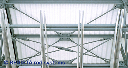 Zugstangensysteme BESISTA für die Aussteifung im Stahlbau, Glasbau und Fassadenbau - 09